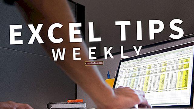 Come rendere orizzontali i dati di Excel