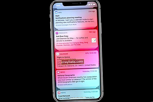 Come sbarazzarsi delle notifiche push sull'iPad